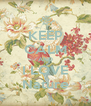KEEP CALM AND I LOVE Nature - Personalised Poster A4 size