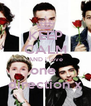 KEEP CALM AND i love one  direction x - Personalised Poster A4 size