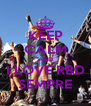 KEEP CALM AND I LOVE RBD SEMPRE - Personalised Poster A4 size