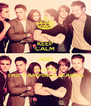 KEEP CALM AND I LOVE THE VAMPIRES DIARIES - Personalised Poster A4 size