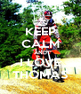 KEEP CALM AND I LOVE THOMAS - Personalised Poster A4 size
