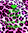 KEEP CALM AND I Love You Megan - Personalised Poster A4 size