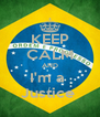 KEEP CALM AND I'm a  Justice  - Personalised Poster A4 size