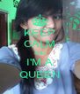 KEEP CALM AND I'M A QUEEN - Personalised Poster A4 size
