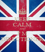 KEEP CALM AND I' M DIRECTIONER - Personalised Poster A4 size
