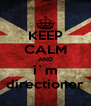 KEEP CALM AND i`m directioner - Personalised Poster A4 size