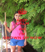 KEEP CALM AND I'M GROWN UP NOW - Personalised Poster A4 size