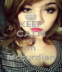KEEP CALM AND i'm  Mccurdian - Personalised Poster A4 size