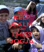 KEEP CALM AND I MISS JOGJA - Personalised Poster A4 size