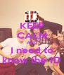 KEEP CALM AND I need to know the 1D - Personalised Poster A4 size