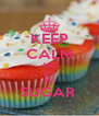 KEEP CALM AND I💝 SUGAR  - Personalised Poster A4 size
