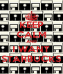 KEEP CALM AND I WANT STARBUCKS - Personalised Poster A4 size