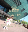 KEEP CALM AND I WILL CALL YOU!! - Personalised Poster A4 size