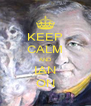 KEEP CALM AND IAN ON - Personalised Poster A4 size