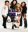 KEEP CALM AND ICARLY  - Personalised Poster A4 size