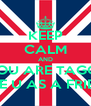 KEEP CALM AND IF YOU ARE TAGGED  I LIKE U AS A FRIEND  - Personalised Poster A4 size