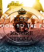 KEEP CALM AND IGNORE STIGMA - Personalised Poster A4 size