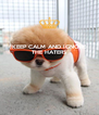 KEEP CALM AND IGNORE THE HATERS    - Personalised Poster A4 size