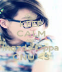 KEEP CALM AND ihqzds Oppa CNU <3 - Personalised Poster A4 size