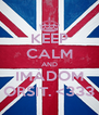 KEEP CALM AND IMÁDOM ORSIT. <333 - Personalised Poster A4 size