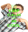 KEEP CALM AND IM COOL - Personalised Poster A4 size