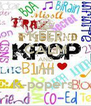 KEEP CALM AND I'm K-popers  - Personalised Poster A4 size