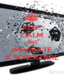 KEEP CALM AND IMPARATE A SCHERZARE - Personalised Poster A4 size
