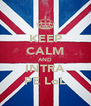 KEEP CALM AND INTRA PE LoL - Personalised Poster A4 size