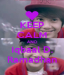 KEEP CALM AND Iqbaal D. Ramadhan - Personalised Poster A4 size