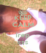 KEEP CALM AND irep css - Personalised Poster A4 size
