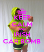 KEEP CALM AND IRISH CAR BOMB - Personalised Poster A4 size