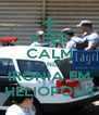 KEEP CALM AND IRONIA EM HELIÓPOLIS - Personalised Poster A4 size