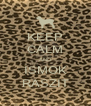 KEEP CALM AND ISMOK RASZIT - Personalised Poster A4 size