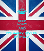 KEEP CALM AND IT'S HARRY STYLES' BIRTHDAY - Personalised Poster A4 size