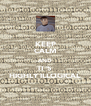 KEEP CALM AND IT'S HIGHLY ILLOGICAL - Personalised Poster A4 size