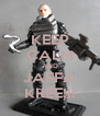 KEEP CALM AND JAFFA KREE!!! - Personalised Poster A4 size