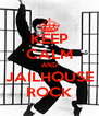 KEEP CALM AND JAILHOUSE ROCK - Personalised Poster A4 size