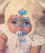 KEEP CALM AND jaja lol - Personalised Poster A4 size