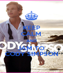 KEEP CALM AND JAM TO CODY SIMPSON - Personalised Poster A4 size