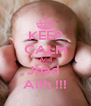 KEEP CALM And Jbad  Alih !!! - Personalised Poster A4 size