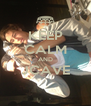 KEEP CALM AND JCAVE  - Personalised Poster A4 size