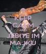 KEEP CALM AND JEBITE IM MAJKU - Personalised Poster A4 size