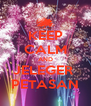 KEEP CALM AND JELEGER  PETASAN - Personalised Poster A4 size