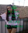 KEEP CALM AND JENNI No Canvis - Personalised Poster A4 size