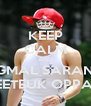 KEEP CALM AND JEONGMAL SARANGHAE LEETEUK OPPA ♥ - Personalised Poster A4 size