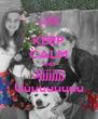 KEEP CALM AND Jjjjjjjjj Uuuuuuuuu - Personalised Poster A4 size