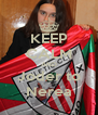KEEP CALM AND Joder to Nerea - Personalised Poster A4 size