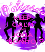 KEEP CALM AND JOGA BONITO - Personalised Poster A4 size