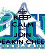 KEEP CALM AND JOIN DEAKIN CHEER - Personalised Poster A4 size