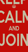KEEP  CALM AND JOIN DIAVOLA - Personalised Poster A4 size